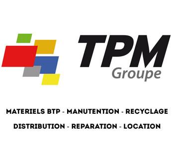 Groupe TPM | distribution, réparation, location matériels pour le bâtiment, les travaux publics, la manutention et le recyclage